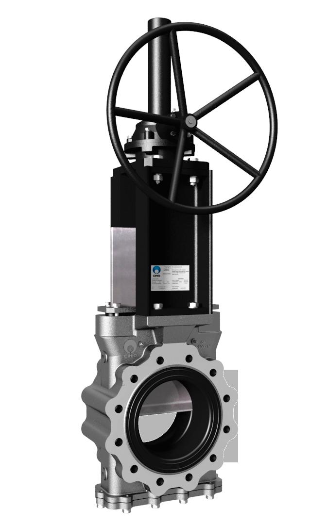 Válvula de guillotina - knife gate valves