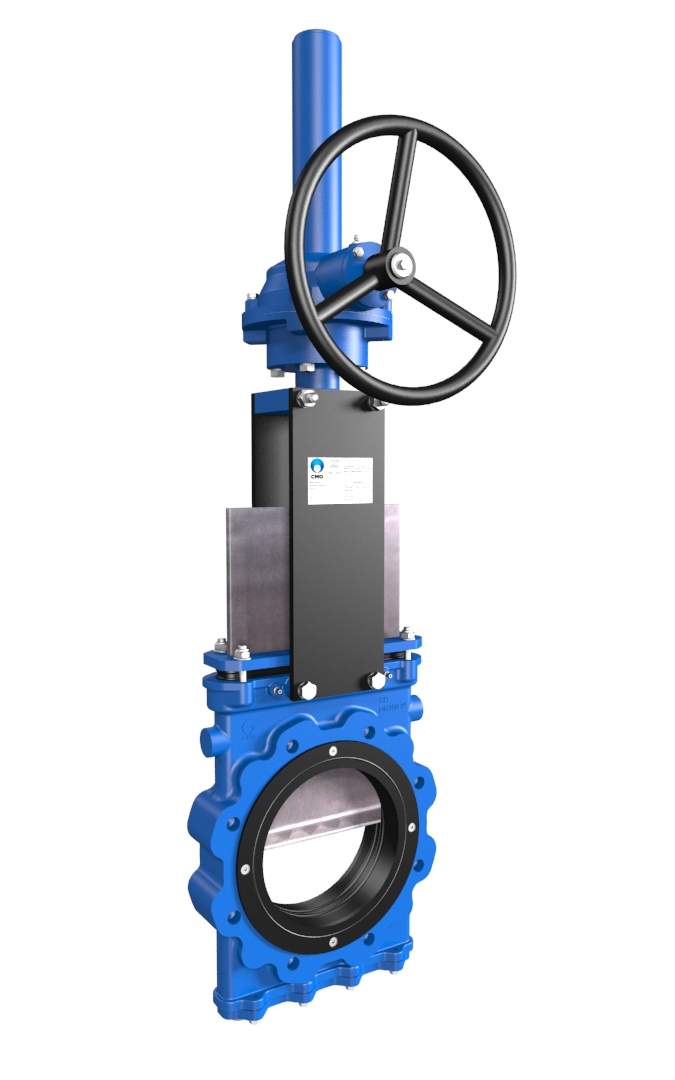 Slurry knife gate valves