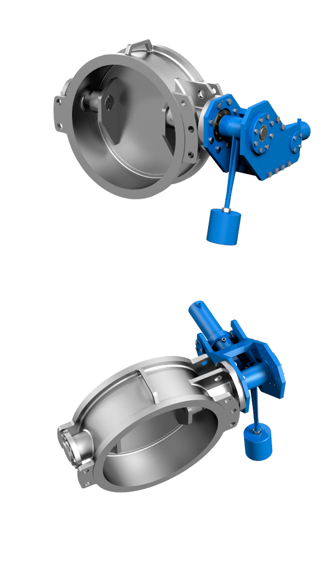 Cmo Valves Series RT Damper