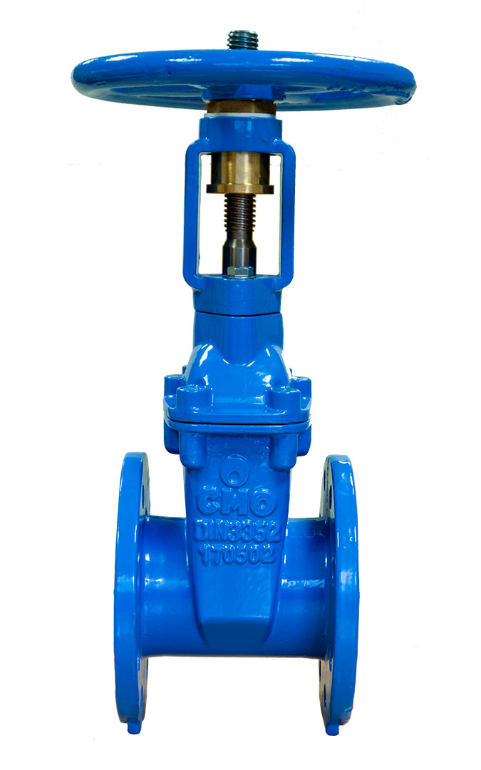Resilient seat gate valves