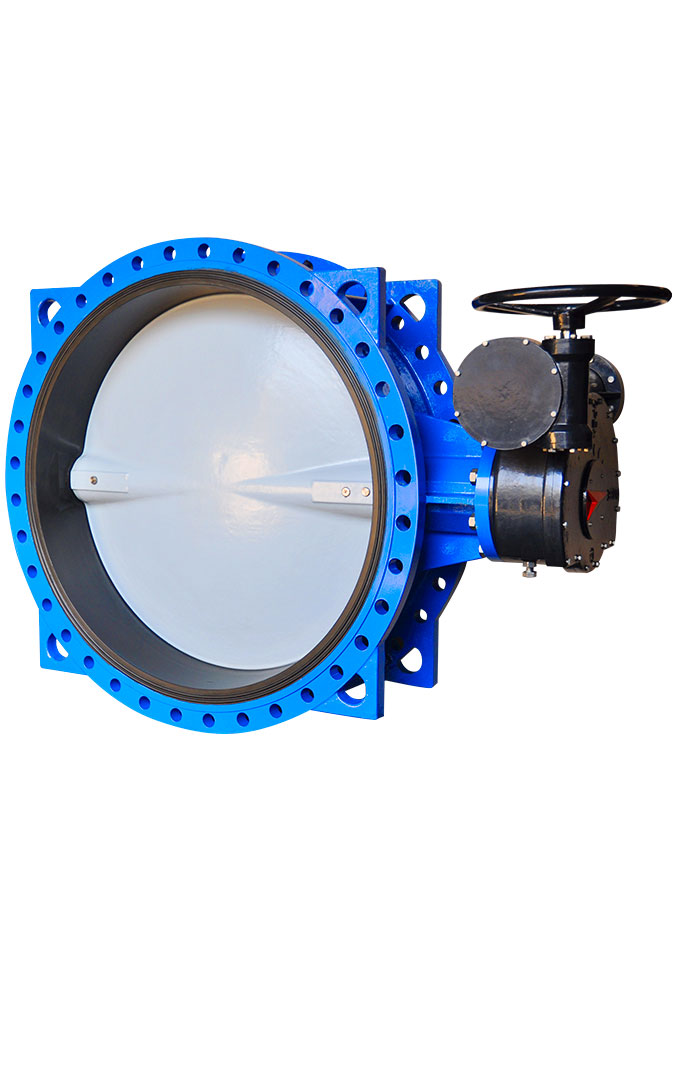 Double Flange Butterfly Valve 23A