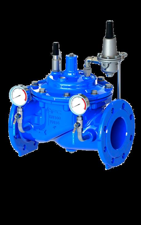 Cmo Valves Water Supplies Serie 53A Valvula de control