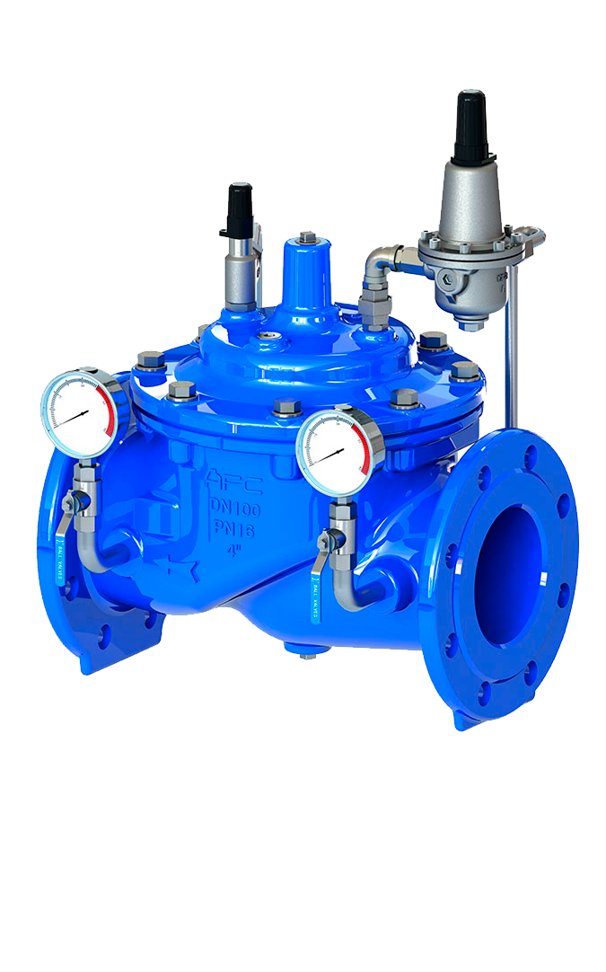 Cmo Valves Water Supplies Serie 53A Valvula de control
